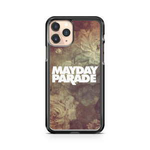 Mayday Parade Floral Logo iPhone 11 Pro Case Cover