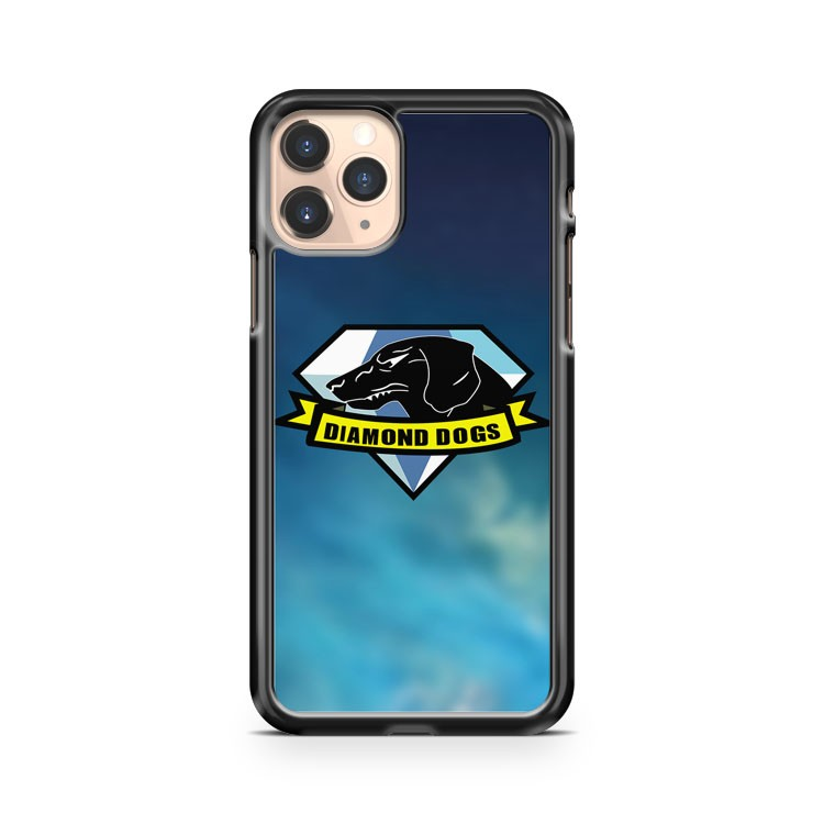 Metal Gear Solid Diamond Dogs iPhone 11 Pro Case Cover
