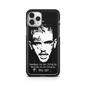 Lil Peep Tribute iPhone 11 Pro Case Cover