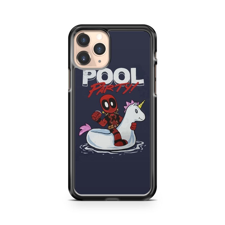 Marvel Comics Deadpool Pool Party iPhone 11 Pro Case Cover