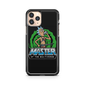 Master Of The Universe Rick And Morty Pickle Rick Parody iPhone 11 Pro Case Cover