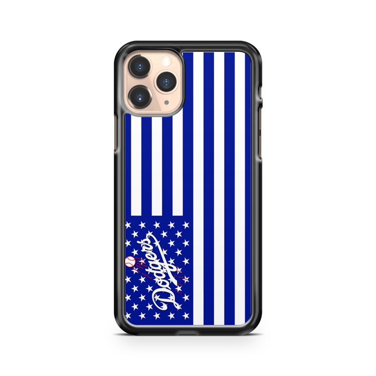 Los Angeles La Dodgers MLB Flag iPhone 11 Pro Case Cover