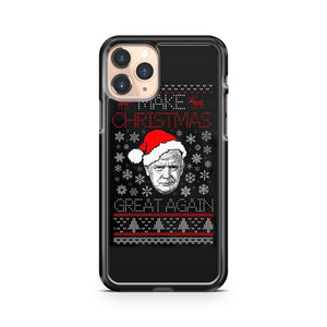 Make Christmas Great Again Trump President Holiday iPhone 11 Pro Case Cover
