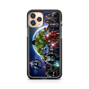 Marvel Avengers Superheroes iPhone 11 Pro Case Cover