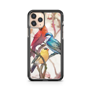 3 Birds Art iPhone 11 Pro Case Cover