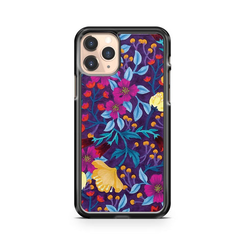 Artistic Floral iPhone 11 Pro Case Cover