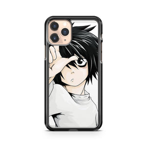 L Cartoon Death Note iPhone 11 Pro Case Cover
