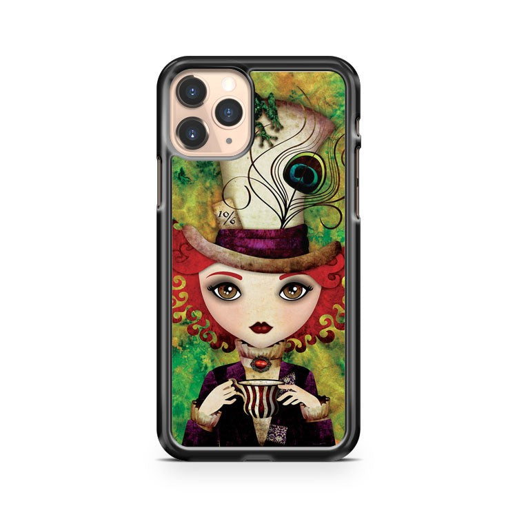 Lady Hatter iPhone 11 Pro Case Cover