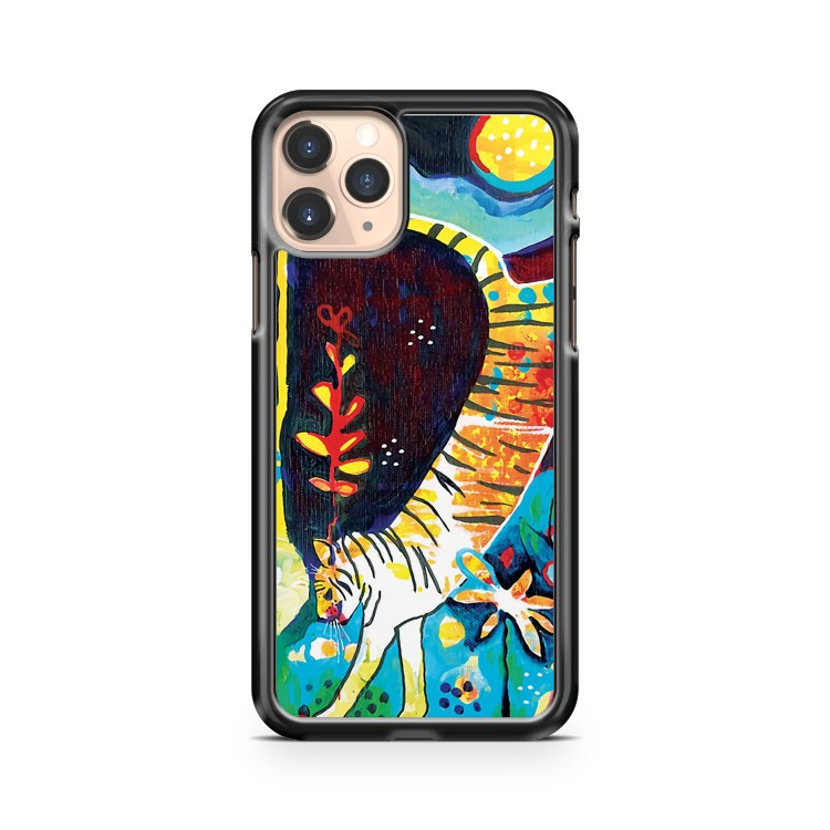Leaping Tiger iPhone 11 Pro Case Cover