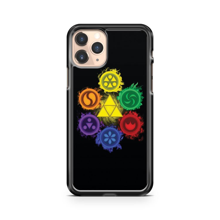 Legend Of Zelda Ocarina Of Time The 6 Sages iPhone 11 Pro Case Cover