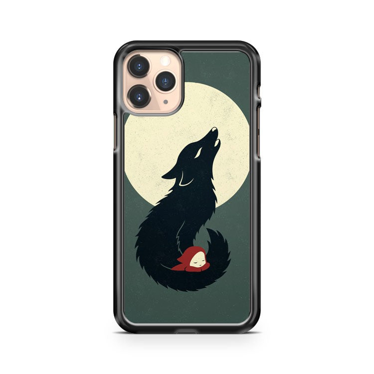 Little Red Riding Hood Minimalist Disney iPhone 11 Pro Case Cover