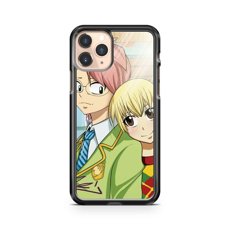 Lucy And Natsu Fall In Love iPhone 11 Pro Case Cover