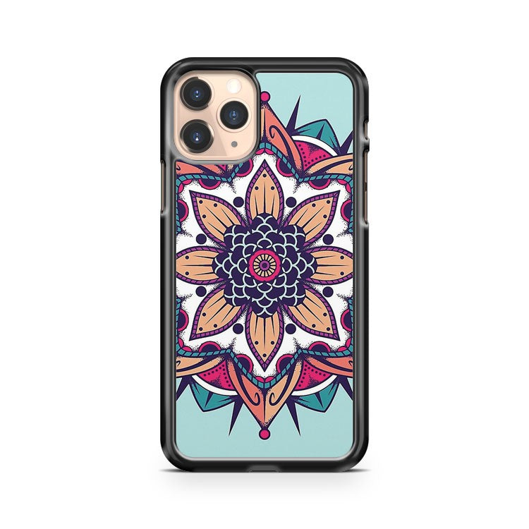 Mandala Teal iPhone 11 Pro Case Cover