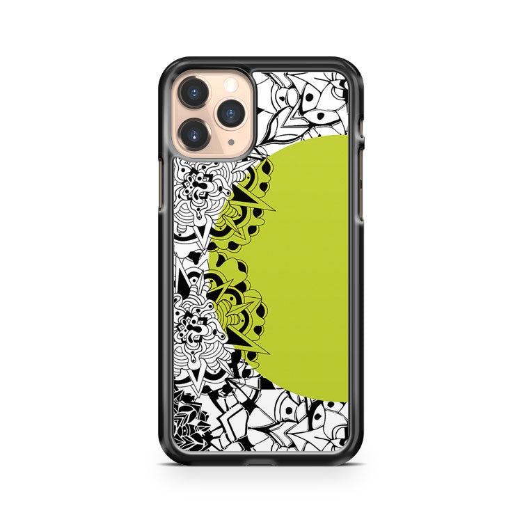 Mandala Yellow iPhone 11 Pro Case Cover