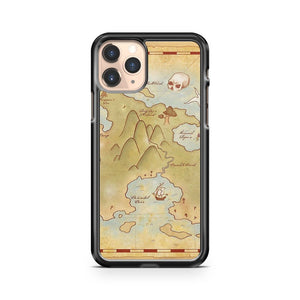 Map Of Neverland iPhone 11 Pro Case Cover