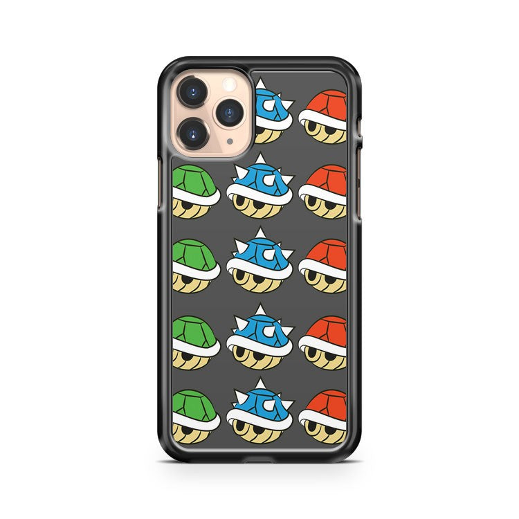Mario Kart Items Shells iPhone 11 Pro Case Cover