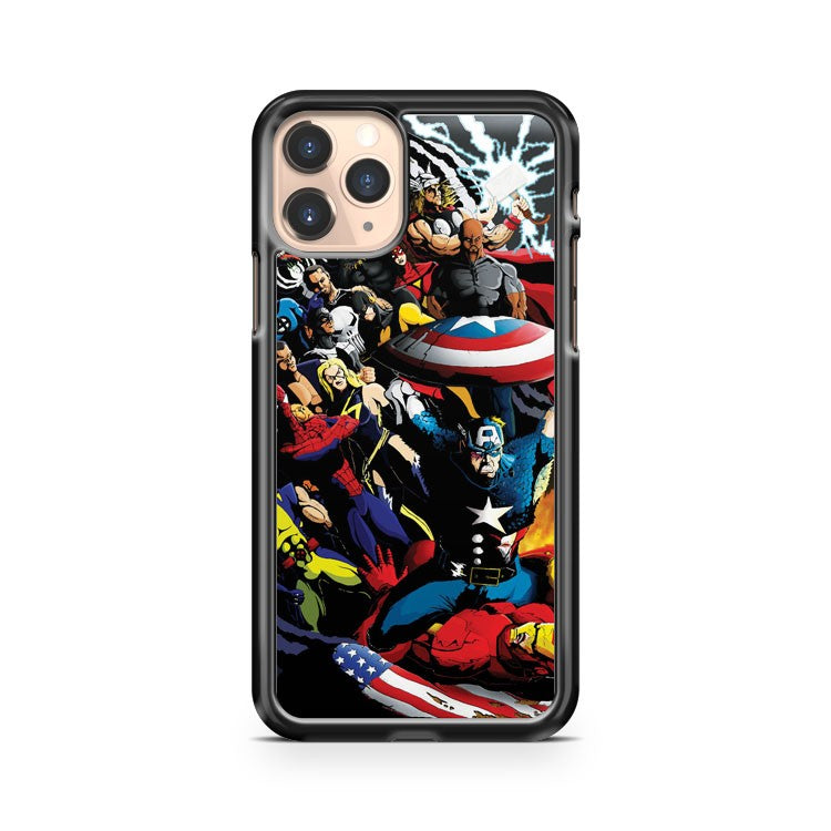 Marvel Civil War Tribute iPhone 11 Pro Case Cover