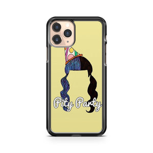 Melanie Martinez Pity Party Hair Design iPhone 11 Pro Case Cover