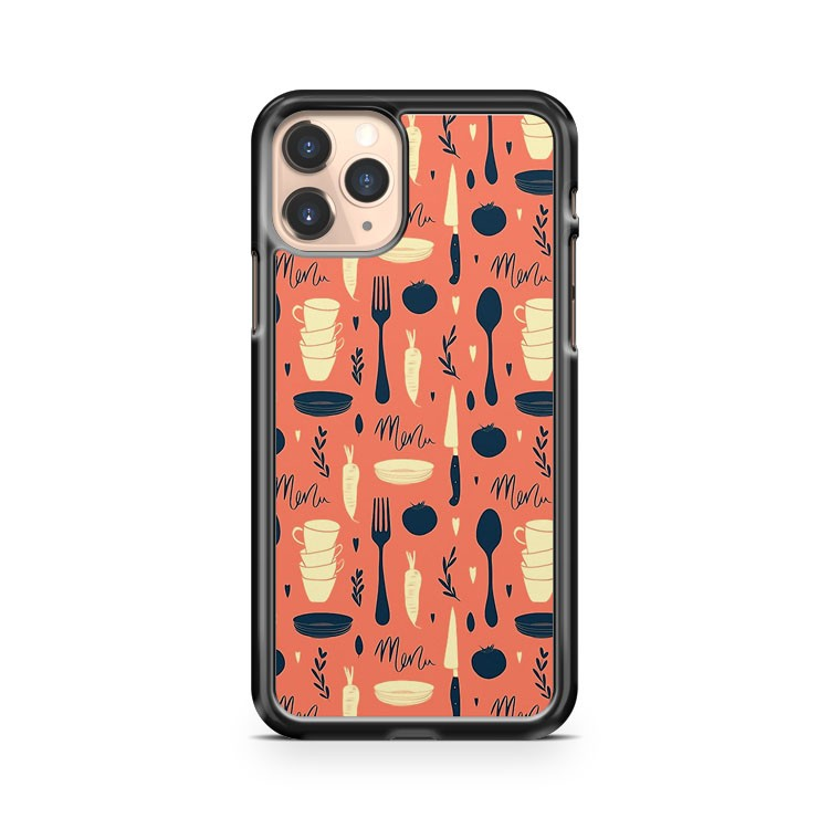 Menu Pattern iPhone 11 Pro Case Cover