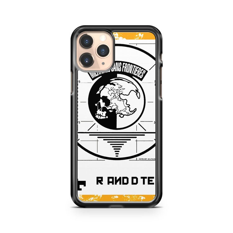 Metal Gear Solid Msf iPhone 11 Pro Case Cover