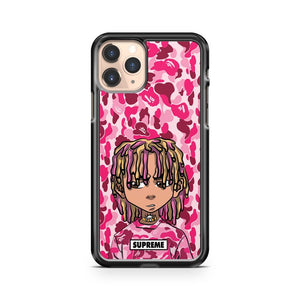 Lil Pump Boondocks Bape Pink Camo iPhone 11 Pro Case Cover