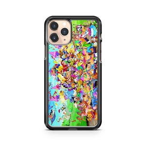 Many Disney Characters iPhone 11 Pro Case Cover