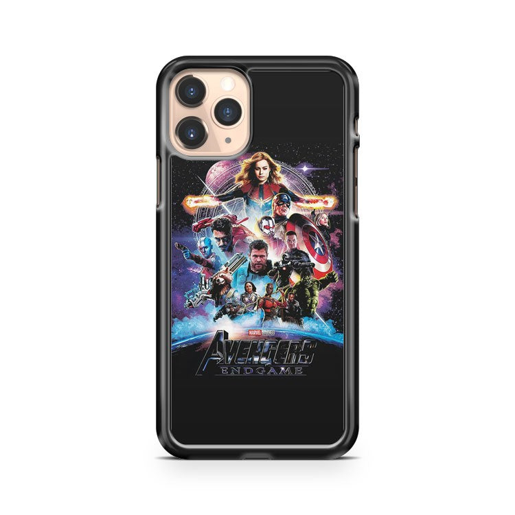 Marvel Avengers End Game Poster Trailler iPhone 11 Pro Case Cover