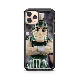 Mascot For The Michigan State Spartans iPhone 11 Pro Case Cover
