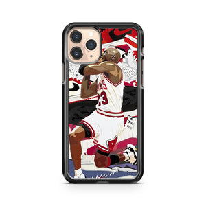 Michael Jordan Chicago Bulls iPhone 11 Pro Case Cover