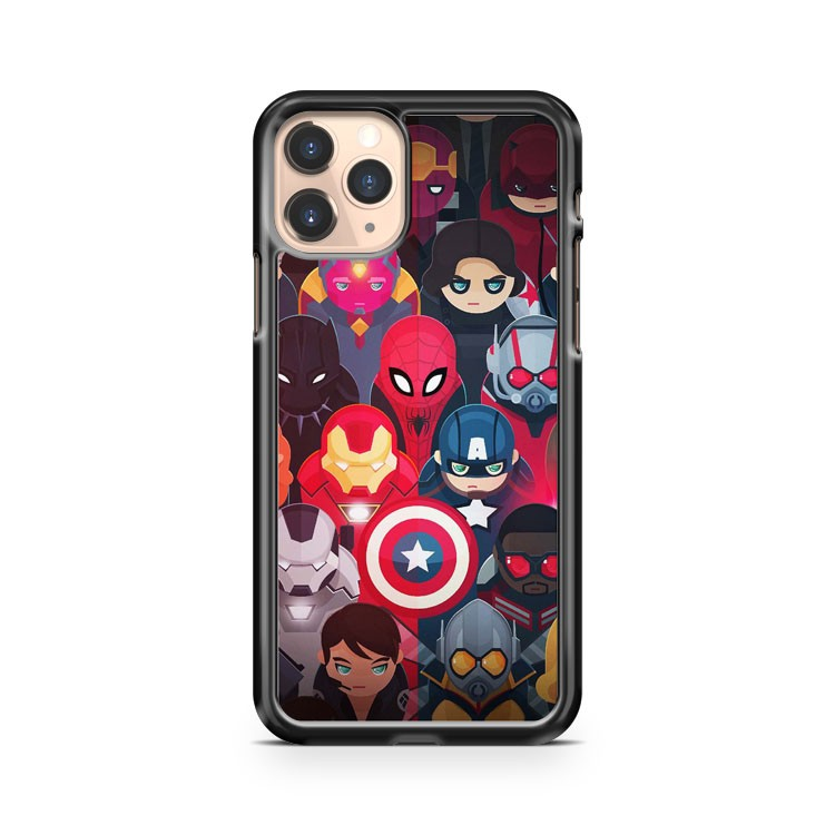 Marvel Superheroes iPhone 11 Pro Case Cover