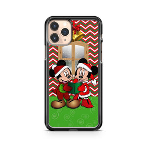 Merry Christmas Mickey And Minnie Mouse iPhone 11 Pro Case Cover