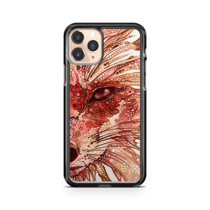 Cute Fox Art Design iPhone 11 Pro Case Cover