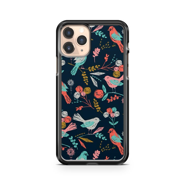 Floral Roses Birds iPhone 11 Pro Case Cover