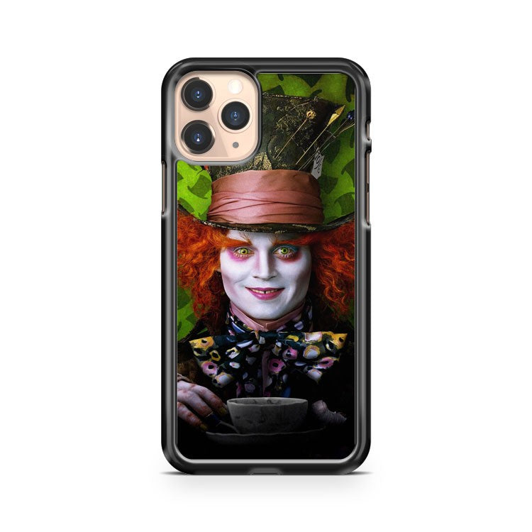 Mad Hatter Alice In Wonderland iPhone 11 Pro Case Cover