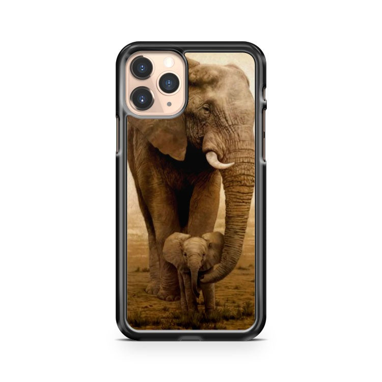 Mama Elephant And Baby iPhone 11 Pro Case Cover