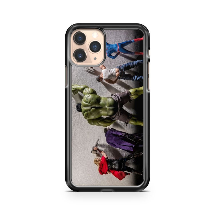 Marvel Funny Hulk Peeing iPhone 11 Pro Case Cover