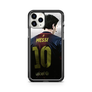 Lionel Messi Barcelona 10 2 iPhone 11 Pro Case Cover