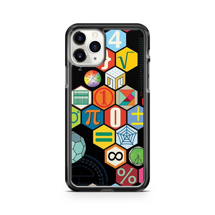 Math In Black iPhone 11 Pro Case Cover