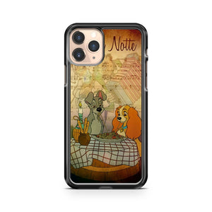 Lady And The Tramp Disney 2 iPhone 11 Pro Case Cover
