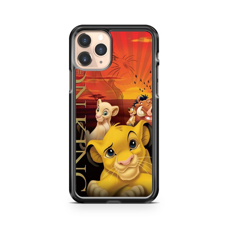 Lion King Poster iPhone 11 Pro Case Cover