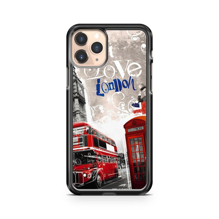 London Bus iPhone 11 Pro Case Cover