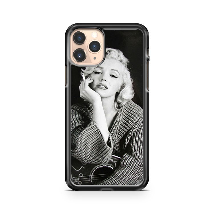 Marilyn Monroe Portrait Smoke iPhone 11 Pro Case Cover