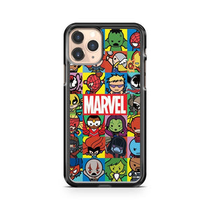 Marvel Characters Superhero iPhone 11 Pro Case Cover