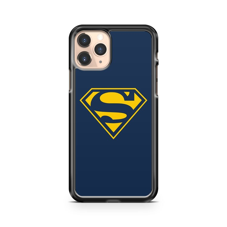 Marvel Hero Superman Blue iPhone 11 Pro Case Cover