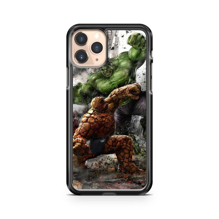 Marvel Hulk Vs The Thing iPhone 11 Pro Case Cover