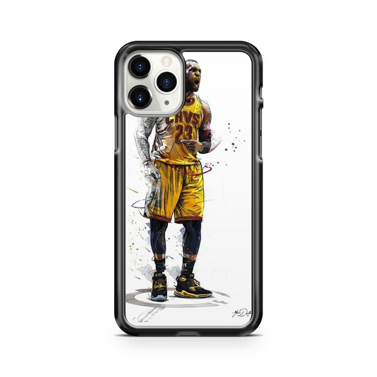 Lebron James 23 Cavaliers iPhone 11 Pro Case Cover