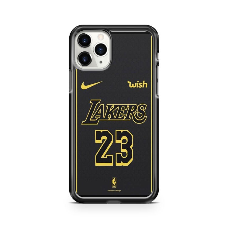 Lebron James Jersey Lakers 23 iPhone 11 Pro Case Cover