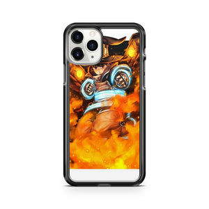 Maki Oze Fire Force iPhone 11 Pro Case Cover