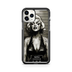 Marilyn Monroe Mugshot iPhone 11 Pro Case Cover