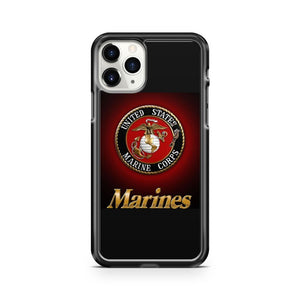 Marine Corps Semper Fi 1 iPhone 11 Pro Case Cover